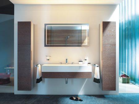Salle de bain design et pratique for Salle de bain pratique