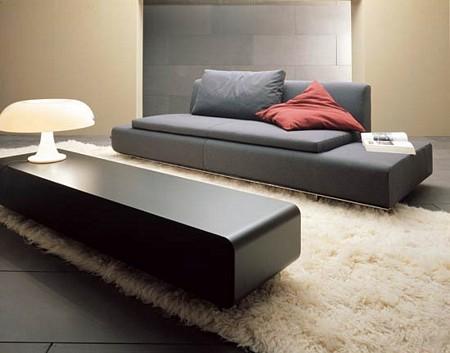Espace lounge contemporain for Decoration epuree definition