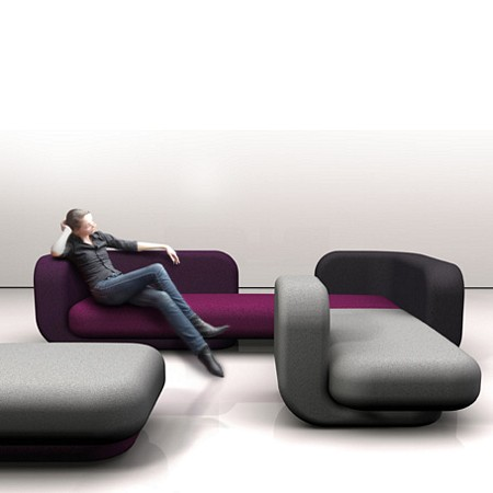 Sofa modulable Tom Dixon