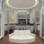 Intérieur du yatch solaire Solar resort