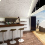 Bar du yatch solaire Solar resort