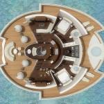 Solar Floating Resort, yatch ile flottante solaire par Michele Puzzolante