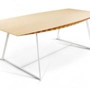 Table de repas design en bambou Bee Indoor