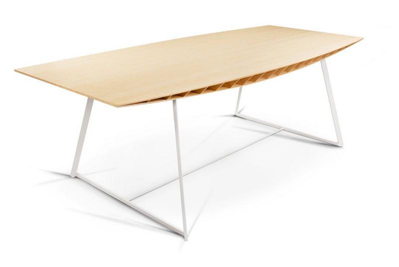 table de repas en bambou bee indoor. Black Bedroom Furniture Sets. Home Design Ideas