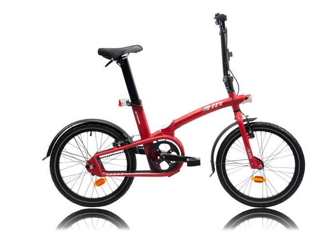 Btwin Tilt, le 1er vélo qui se plie et se déplie en 1 seconde !