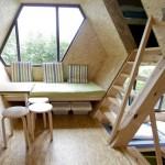 A l'intérieur d'une cabane design