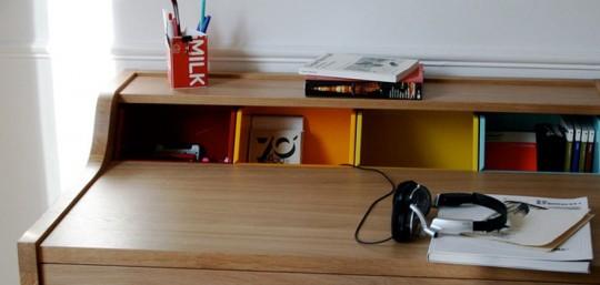 Détail bureau Desk Hansen Family Remix