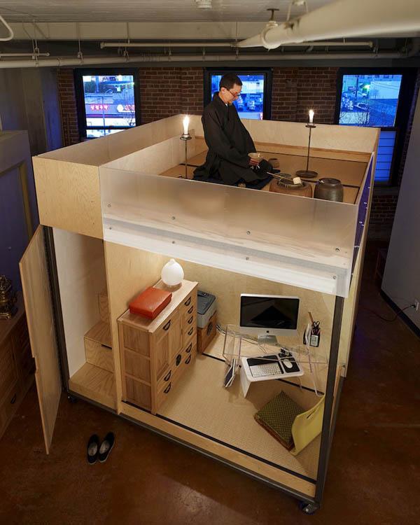The Cube, espace cubique modulable Feng Shui