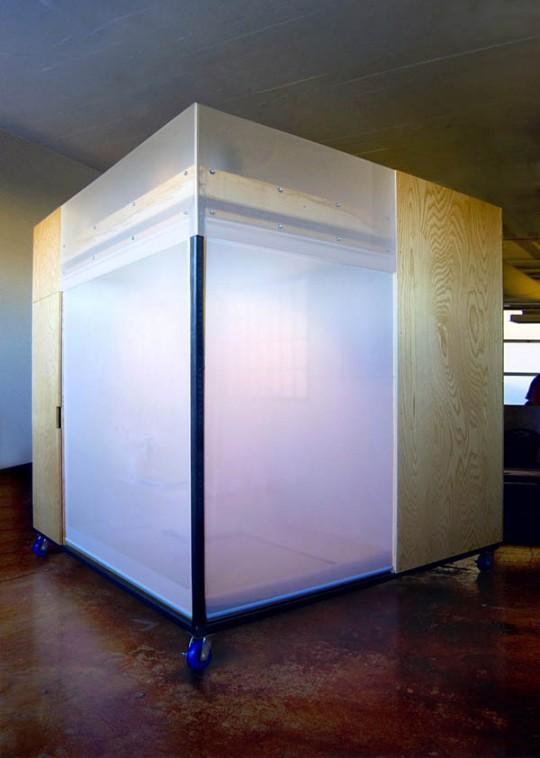 Comment vivre travailler dormir et m diter dans un tout petit cube feng shui - The mobile office working on two wheels ...