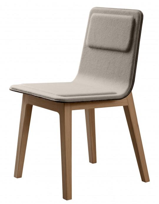 chaise alki laia grise. Black Bedroom Furniture Sets. Home Design Ideas