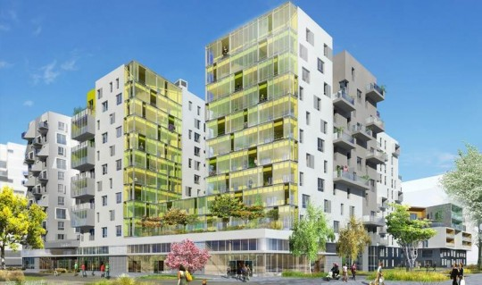 Les Docks de Saint-Ouen - résidence ADN Bouygues Immobilier