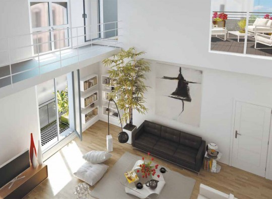 La Fabric, appartement neuf style loft au Pré Saint-Gervais