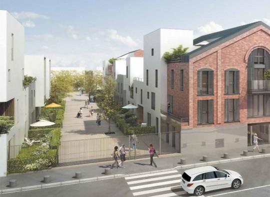 La fabric, programme neuf de Nexity au Pré-Saint Gervais
