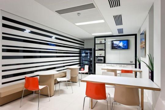 Les nouveaux bureaux de pokerStars à Londres