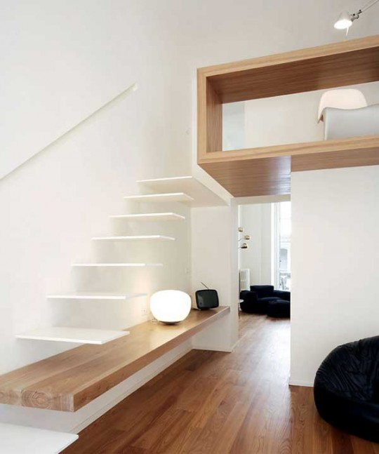 House studio, visite d'un appartement design italien