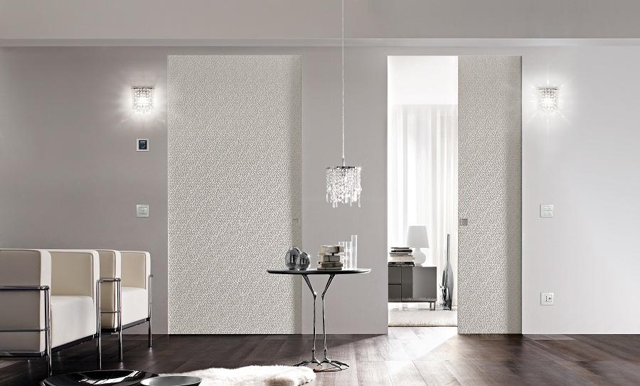 porte coulissante avec passage de c bles lectriques syntesis eclisse. Black Bedroom Furniture Sets. Home Design Ideas