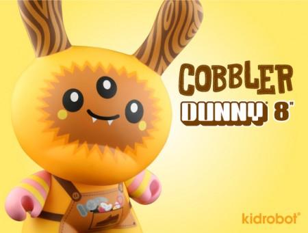 Kidrobot Dunny Cobbler by Tado