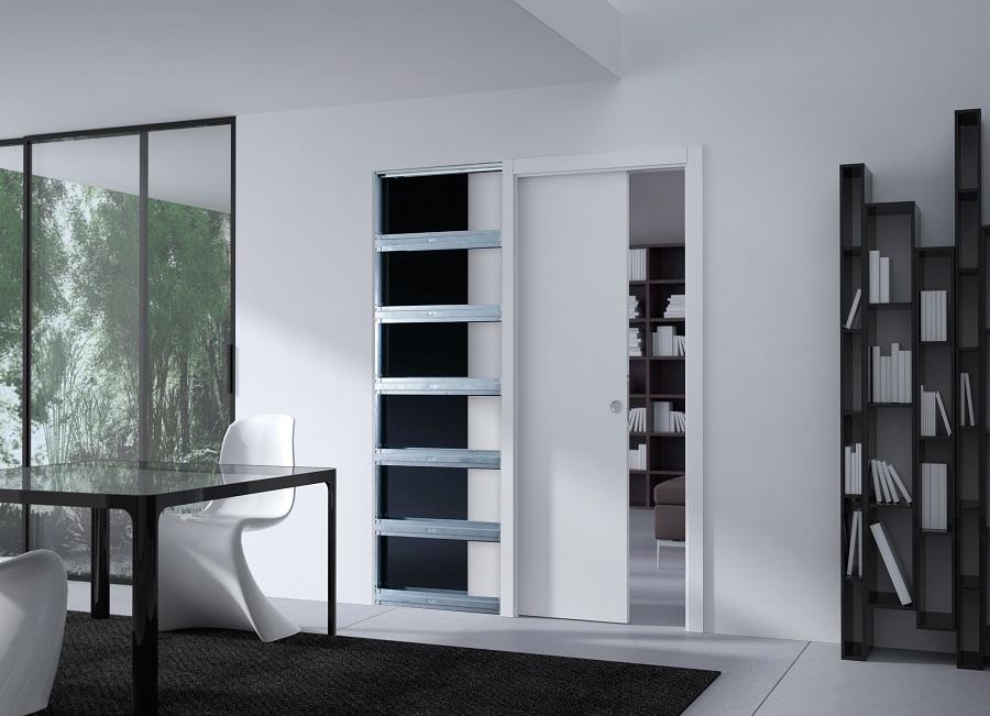 porte coulissante design unique par eclisse. Black Bedroom Furniture Sets. Home Design Ideas