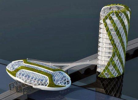 Anti-smog, architecture futuriste et écologique