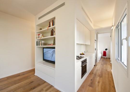 Un appartement de 40m2 refait par sfaro architectes for Amenagement appartement 40m2
