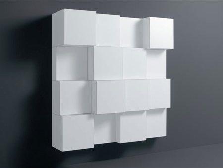 Armoire modulaire en 3 dimensions