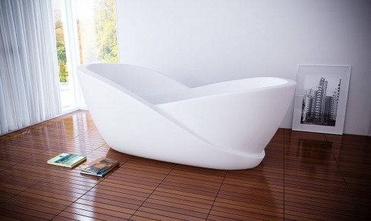 Baignoire high-tech spéciale relaxation Infinity | Mukomelov studio