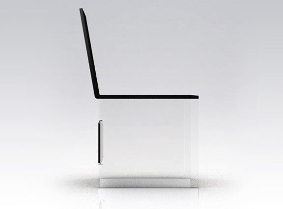 Chaise Equilibriste par Julie Brunaud pour Sllov
