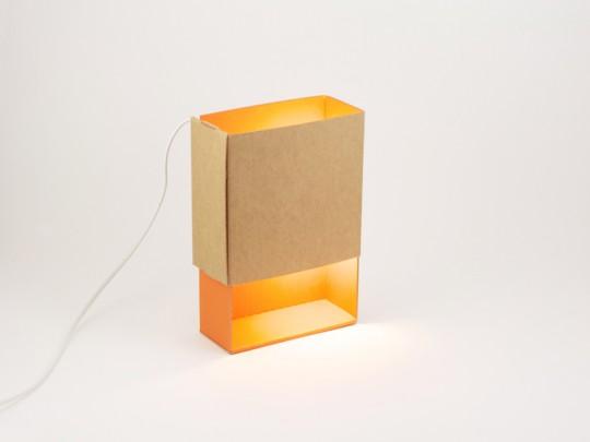 Boite à lumière, la lampe boîte d'allumettes | ¿adónde?