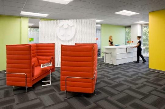eBay workspace initiative, les nouveaux bureaux d'eBay