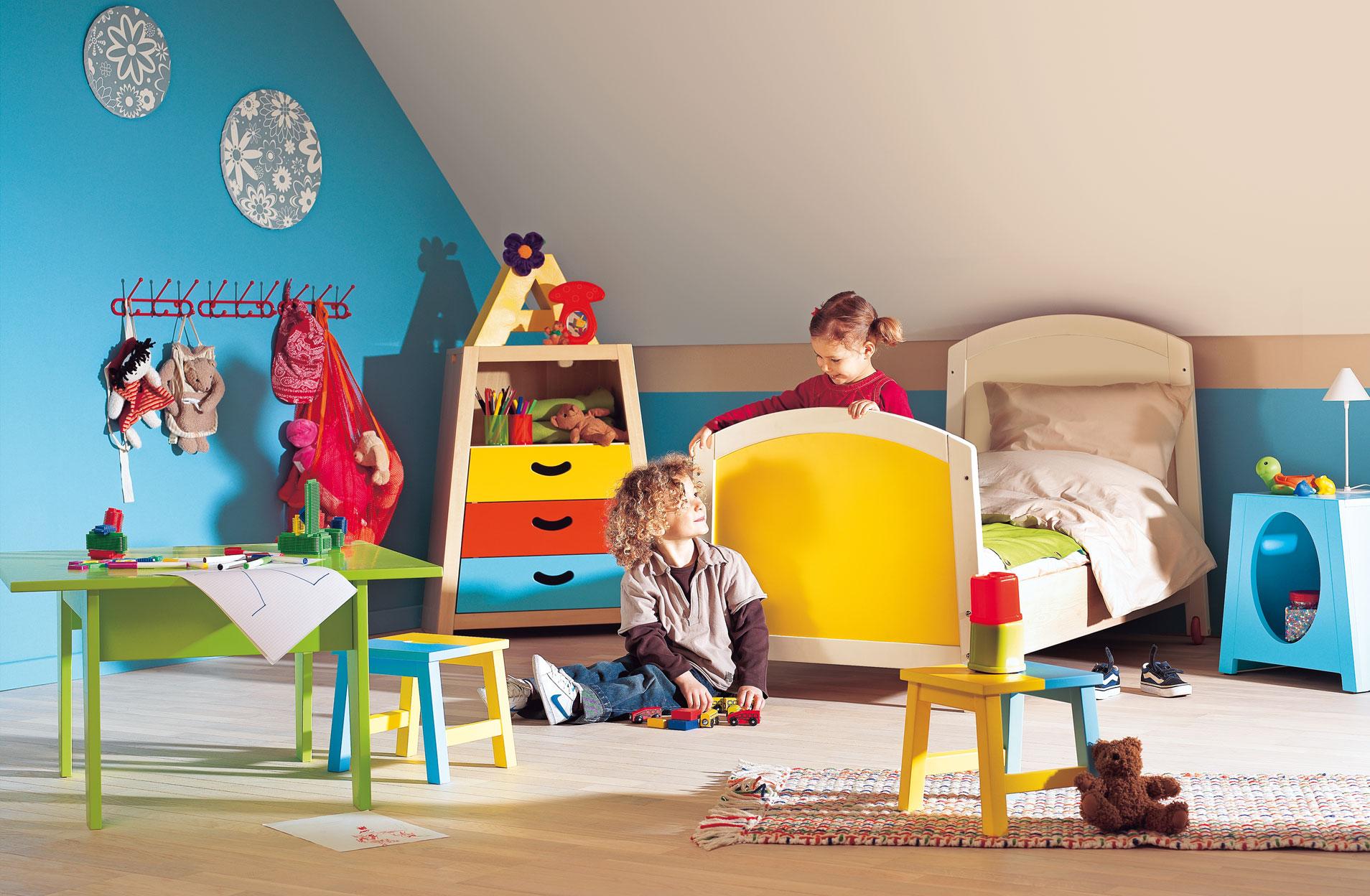 inspiration d coration chambre enfant gautier calico. Black Bedroom Furniture Sets. Home Design Ideas