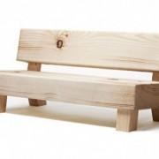 Canapé imitation bois - Soft Wood Sofa Moroso