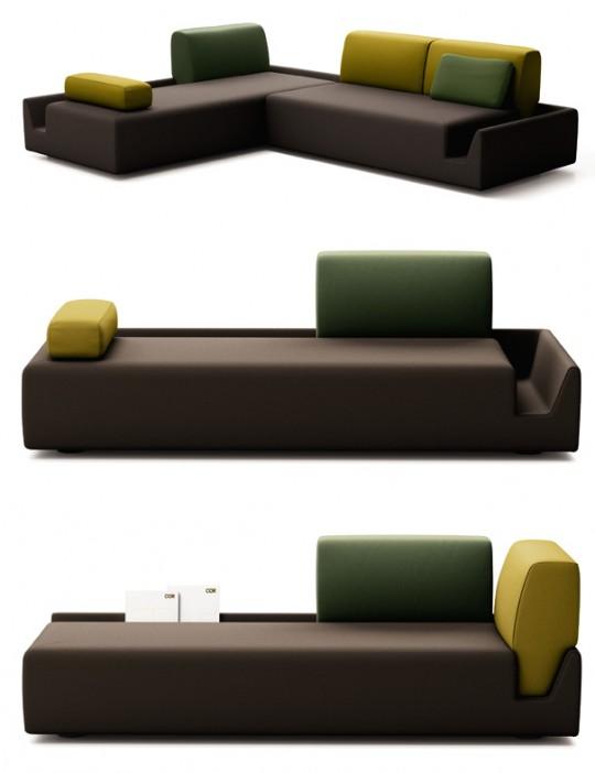 Canapé modulable Cor Fossa | Aurélien Barbry