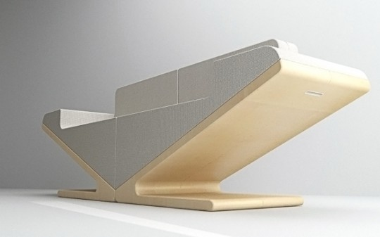 Canapé extensible V two | Designjoo