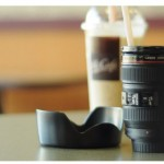Mug en forme de zoom appareil photo Canon