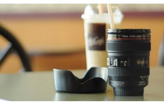 Buvez votre café dans votre objectif photo Canon ou Nikon favori !