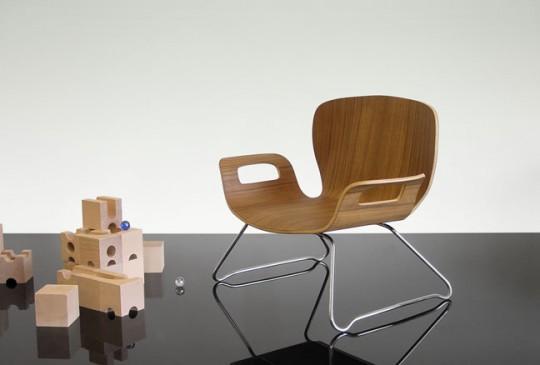 Chaise enfant en bois First | Kido