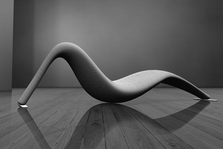 Chaise longue futuriste Dodi