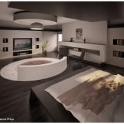 Chambre design par Semsa Bilge