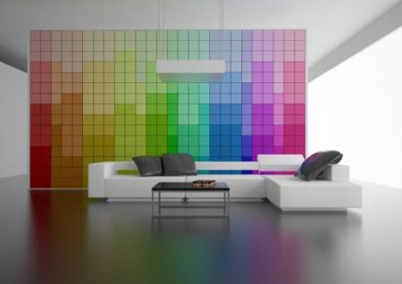 Change it ! Le mur de pixels modulable
