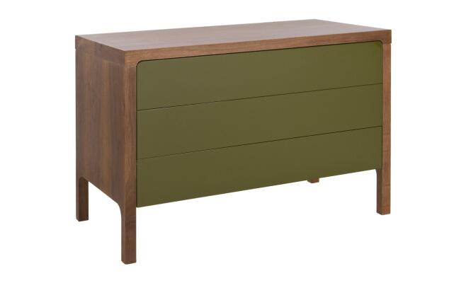 console r tro mobi verte graine d 39 int rieur moins ch re. Black Bedroom Furniture Sets. Home Design Ideas