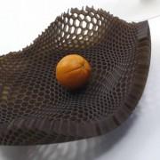 Coupe à fruits nid d'abeille Black Honey - Arik Levy