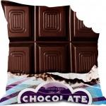 Coussin tablette de chocolat Bonjour mon coussin