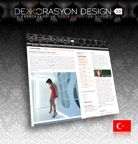Dekorasyon dizayn, le blog déco made in Turquie