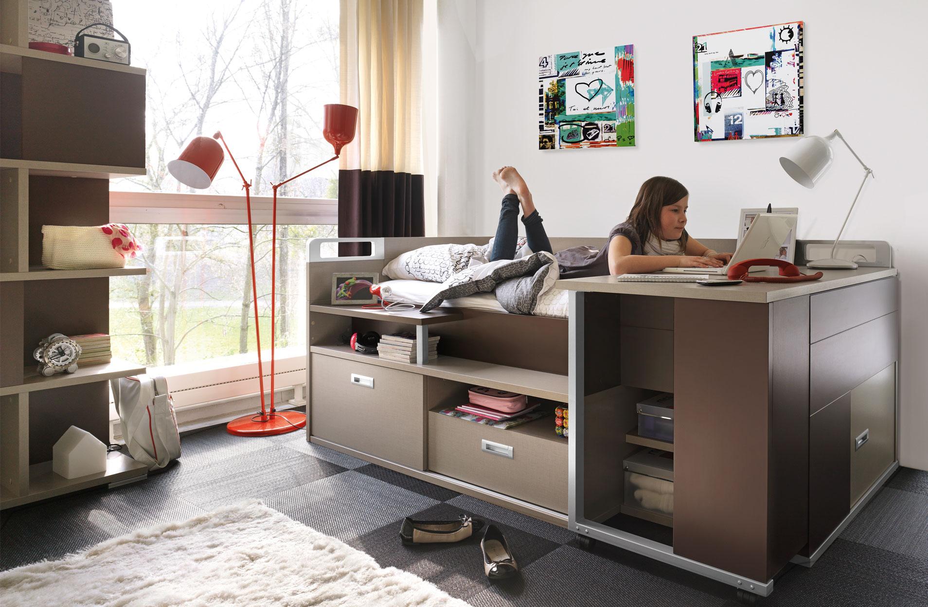 Inspiration d co bureau contemporain gautier dimix for Meuble gautier bureau