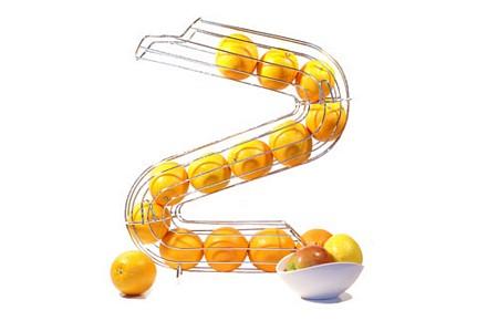 Distributeur d'oranges