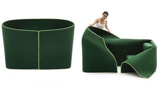 Sosia, double fauteuil convertible   Campeggi