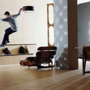 Etnies house - la maison skatepark