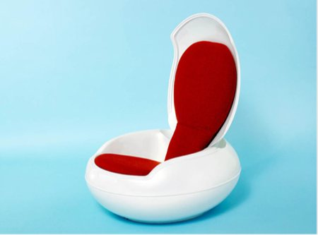 Fauteuil oeuf lounge