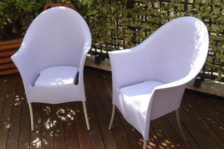 vente priv e fauteuils starck. Black Bedroom Furniture Sets. Home Design Ideas