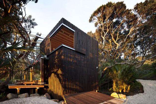 Maison en bois dans la nature par Herbst Architects